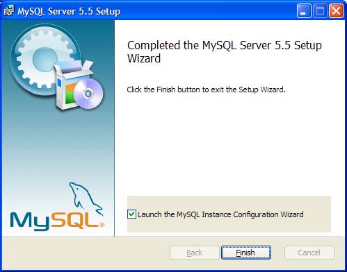 Настройка MySQL-сервера